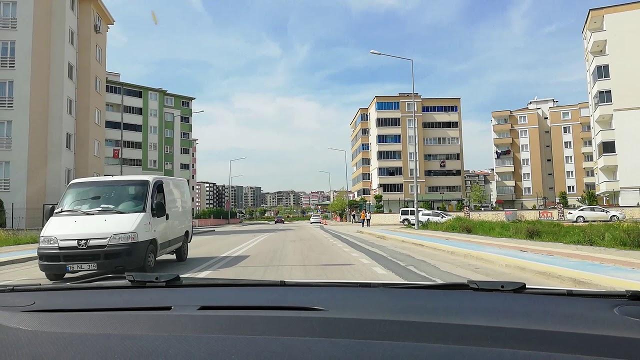 Bursa Osmangazİ Sınav Güzargahının Anlatımı